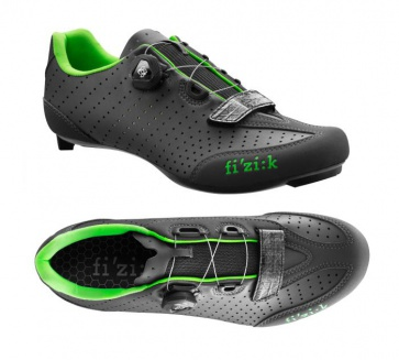 Fizik R3B Uomo Boa Road Cycling Shoes Black Green
