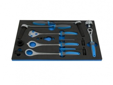 Unior Bike Tool Set in SOS Tool Tray 1600SOS11