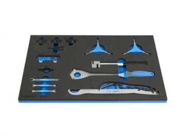 Unior Bike Tool Set in SOS Tool Tray 1600SOS12