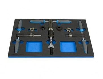 Unior Bike Tool Set in SOS Tool Tray 1600SOS9