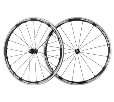 Shimano 700c WH-RS81-C35 Carbon Clincher Wheelset Front & Rear Wheels