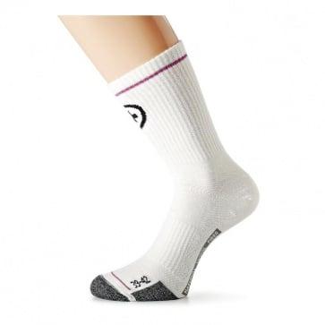 Assos BonkaSocks evo7 Cycling Socks White