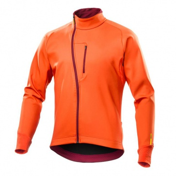 Mavic Aksium Thermo Jacket Orange