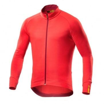 Mavic Aksium Thermo Long Sleeves Jersey Orange
