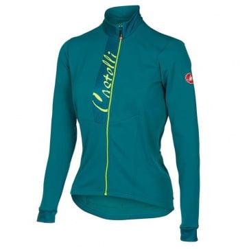 Castelli Sorriso Womens Long Sleeves Jersey Blue