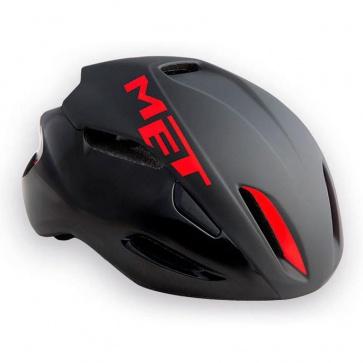 Met Manta Road Bike Helmet-Black Red