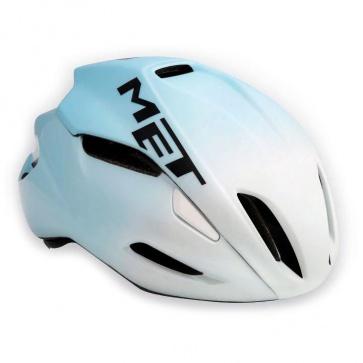 Met Manta Road Bike Helmet - White Sky