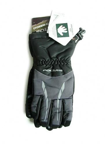 Polaris Stormwall winter gloves black gray