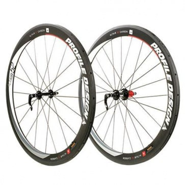 Profile Design Altair Full Carbon Clinchers 52mm Wheels Set