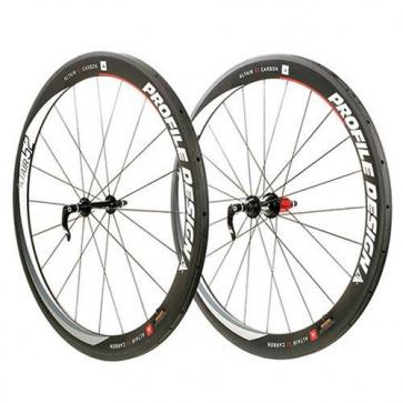 Profile Design Altair Full Carbon Clinchers 52mm Wheels Set
