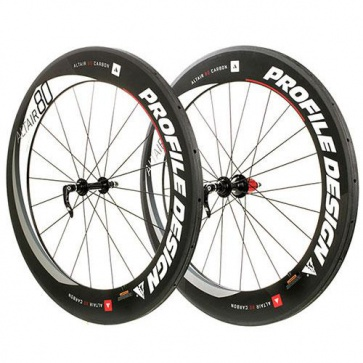 Profile Design Altair Full Carbon Clinchers 80mm Tubular