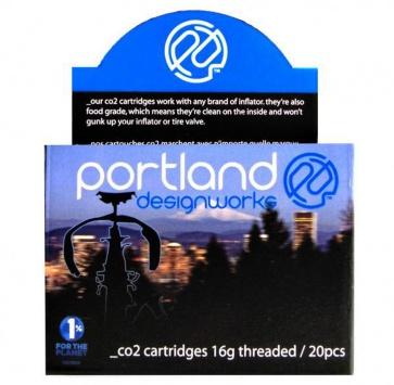 PDW CO2 16g THREADED BOX/20
