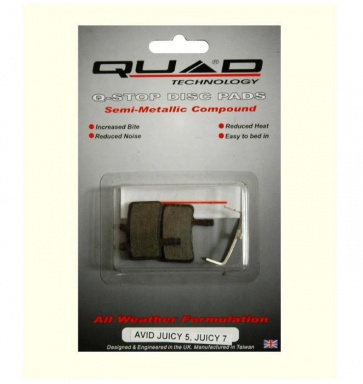 Quad Avid Juicy 7 QDP-35 Disc Brake Pad Shoe