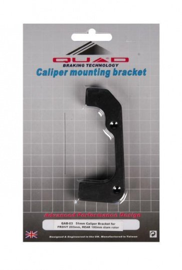 Quad QAB-03 IS Disc Brake Adaptor F203 R180