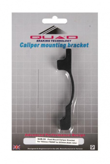 Quad QAB-06 IS Disc Brake Adaptor Post for 160 to 203