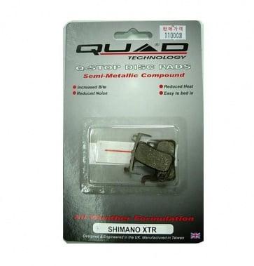 Quad Shimano XTR disc Brake pads Shoes QDP-11