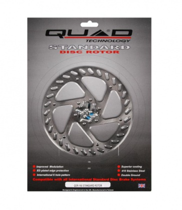 Quad Standard Disc Brake Rotor 160mm 6bolts QDR-160