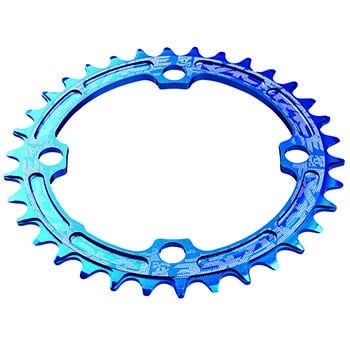 Race Face Single Ring 104mm 38t 8-11-speed Blue