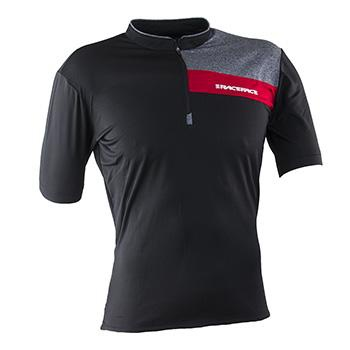 RaceFace Podium Jersey SS Black Red