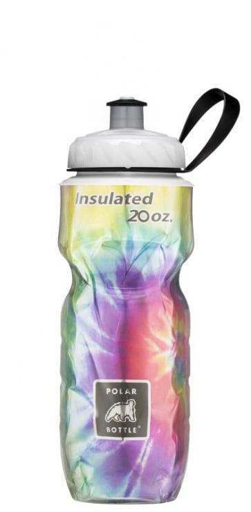 Polar Tie Dye Rainbow 20oz Water Bottle