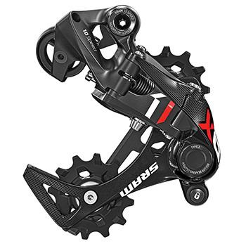 SRAM X01 DH REAR DERAILLEUR 7-SPEED Short CAGE RED