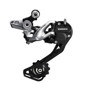 SHIMANO RD-M615 DEORE SHADOW+ REAR DERAILLEUR 10-SPEED GS SILVER