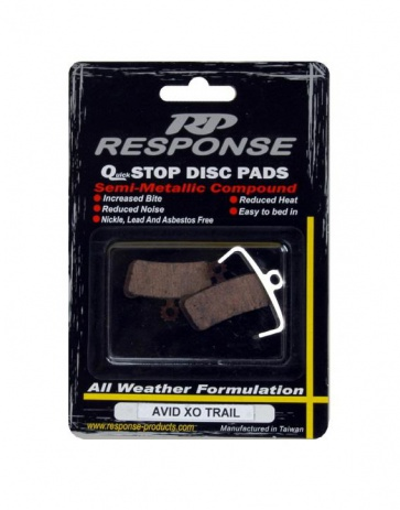 Response Avid XO Trail Disc Brake Pads