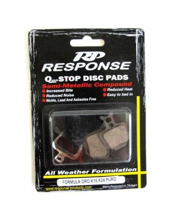 Response Formular Oro K18 K24 Puro Disc Pads Semi Metallic