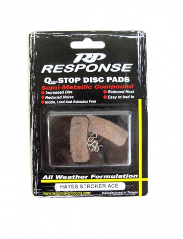 Response Hayes Stroker Ace Disc Brake Pads Semi Metallic