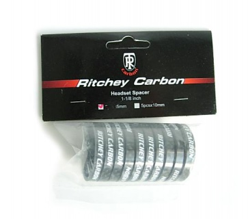 Ritchey Headset carbon spacer 5mm 1 1-8inch 10pcs