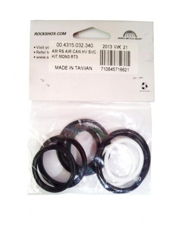 Rockshox AM Rear Shock Aircan HV Service Kit Mon3 RT3