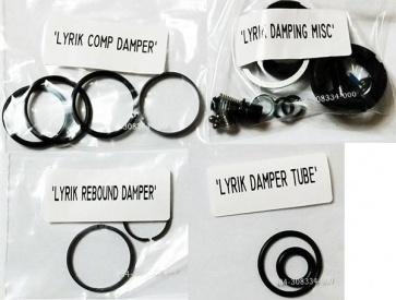 Rockshox Lyrik Damper Comp Reb Service Kit 11.4015.087.000