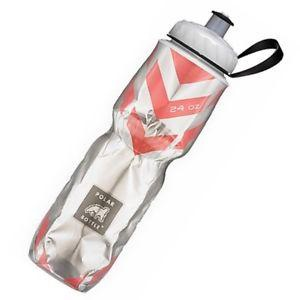 Polar Chevron Red 24oz Water Bottle