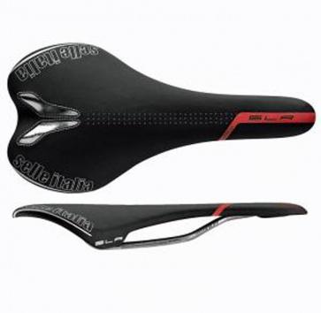 SELLE ITALIA SLR TT BLACK/RED Ti