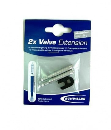 Schwalbe Inner Tube Valve Extension 31mm Presta