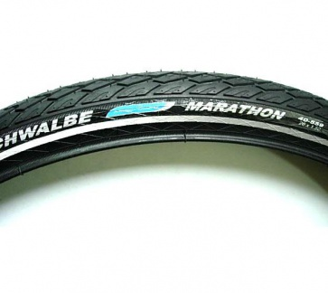 Schwalbe marathon HS420 bicycle tyre tire wire 26x1.5