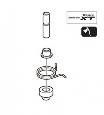 Shimano Bl-M770 Lever Axle Unit Right Y8U698010