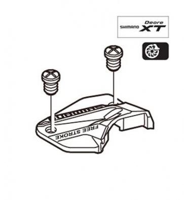 Shimano Bl-M775 Top Cap Cover Screw M3x5 Right Y8U998020