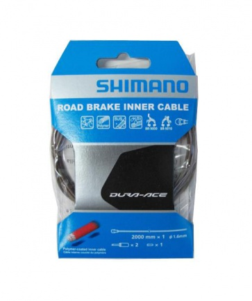 Shimano Brake Polymer coated Inner Cable 1.6x2000mm