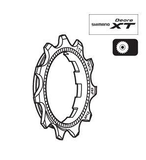 Shimano CS-M760 9SP Sprocket Wheel 11T Y1ZA11001