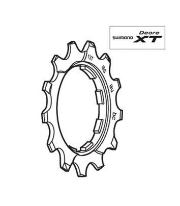 Shimano CS-M760 Sprocket Wheel 13T Y1ZA13451