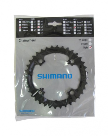 Shimano Deore FC-M590 36T chainring Y1LD98090