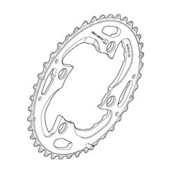 Shimano FC-M782 Chainring 40T for 3x10SP Y1NV98020