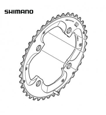 Shimano FC-M785 38T AM Chainring Y1ML98040