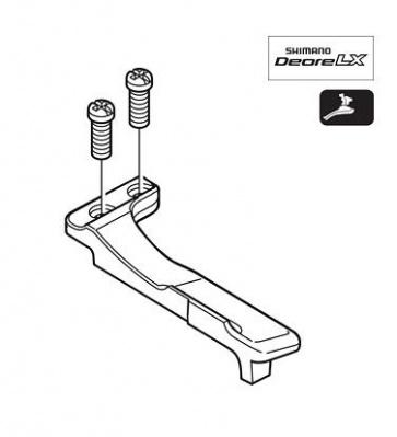 Shimano FD-M760 Adjuster Screw Plate Y5HY98040
