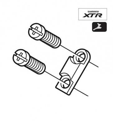 Shimano FD-M971 Adjuster Bolt Plate Y5K698010