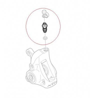 Shimano Hydraulic BR-M965 Bleed Nipple Y8CL24000