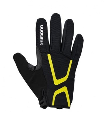 Shimano Light Gloves Long Finger Bicycle Black