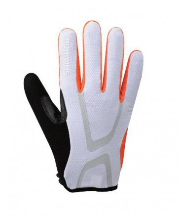 Shimano Light Gloves Long Finger Bicycle Orange