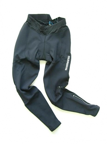 Shimano Performance Winter WindStop Womens Long Tights black